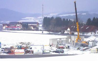 Feuerwehrhausneubau – Fortschritt März 2018