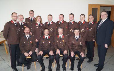 Die FF Münzbach hat ein neues Kommando gewählt…