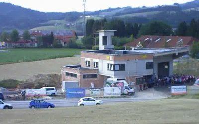 Feuerwehrhausneubau – Fortschritt Juni 2018