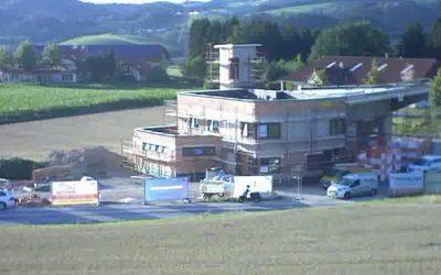 Feuerwehrhausneubau – Fortschritt Juli 2018