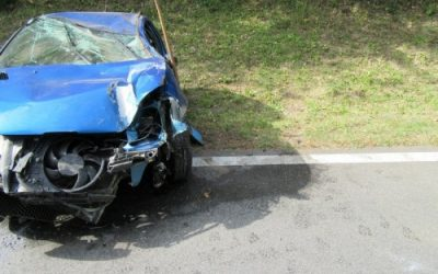 Verkehrsunfall eingeklemmte Person, 12.10.2018