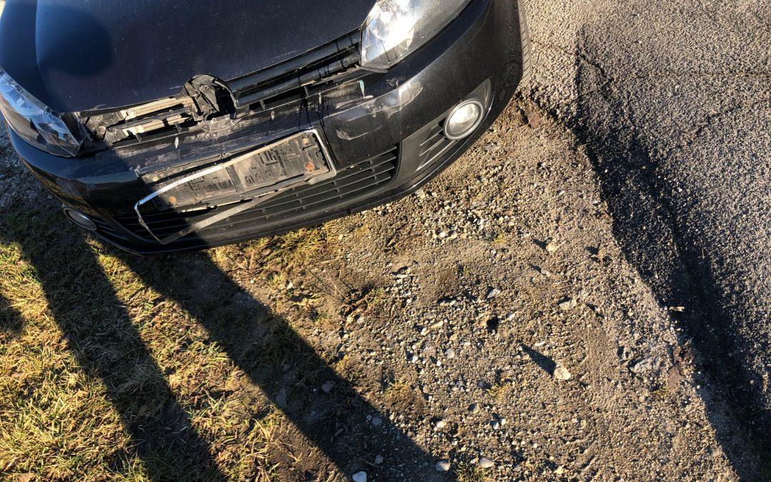 Verkehrsunfall Aufräumarbeiten, 02.01.2020