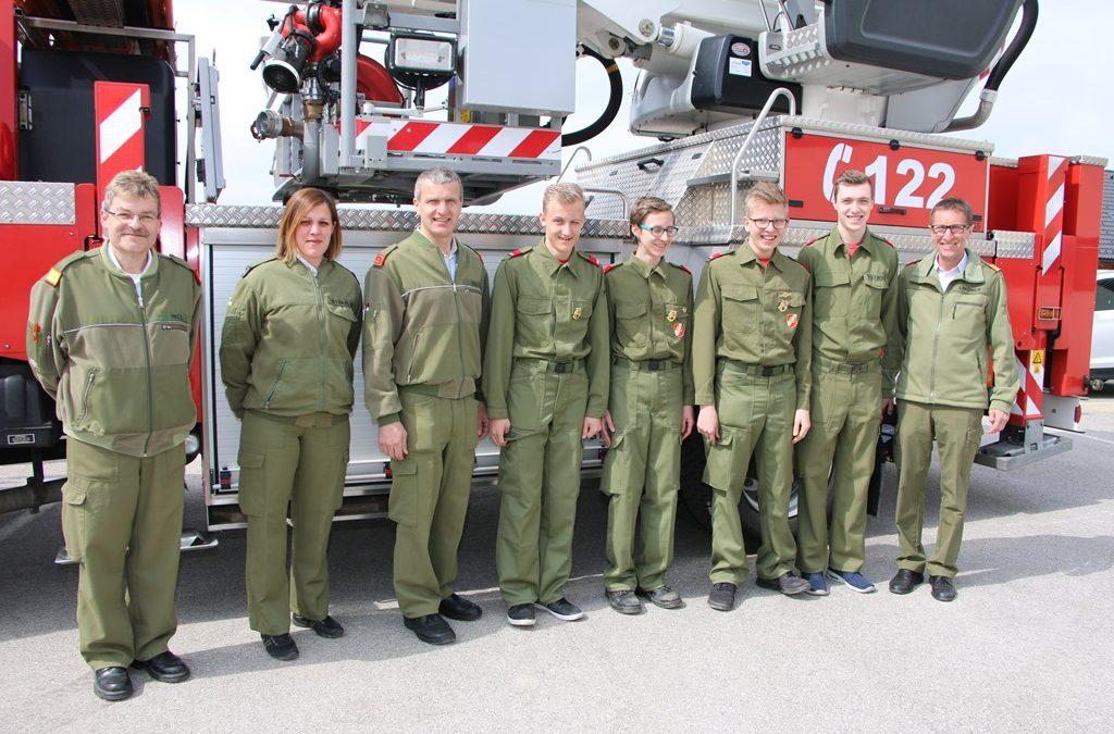 Goldene Zeiten für die Feuerwehrjugend Münzbach