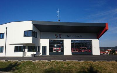 Feuerwehrhaus aus der Vogelperspektive, 07.04.2019