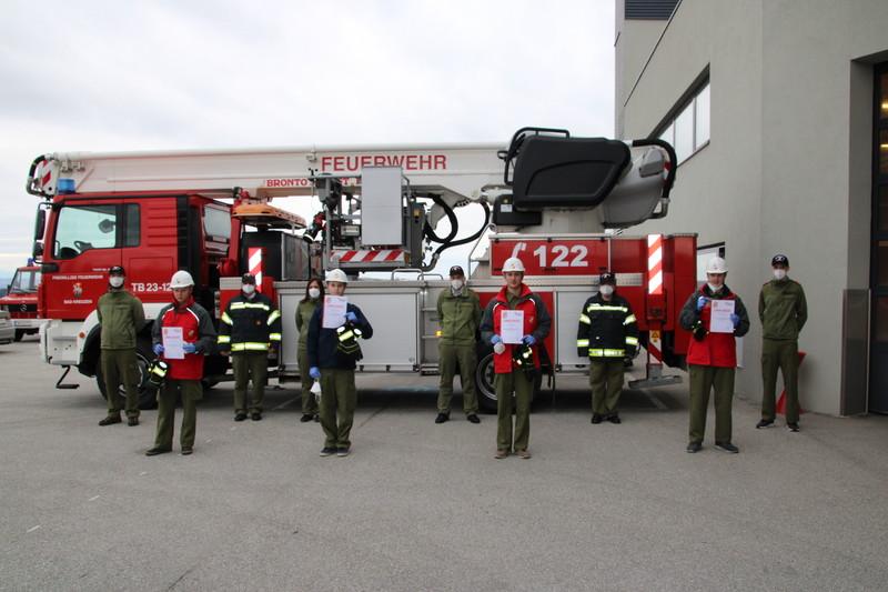 Feuerwehrjugend Münzbach holte sich FjLA Gold